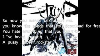wanna be - staind ( lyrics )