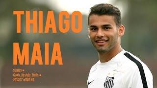 THIAGO MAIA ● Santos ● Goals, Assists, Skills ● 2016/17 ● 1080 HD