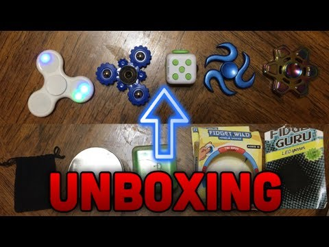EXTREMELY RARE FIDGET SPINNERS UNBOXING!? (Coolest Spinners)