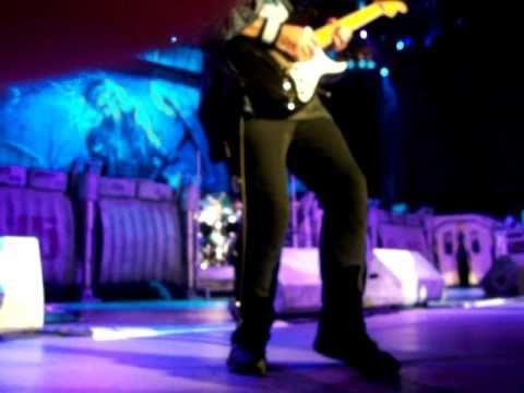 "Iron Maiden ""The Reincarnation of Benjamin Breeg"" PNC Bank Arts Center, NJ 07/11/10"