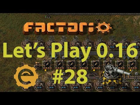 Factorio 0.16 Let's Play #28 - Solid fuel?  No, I meant rocket fuel!