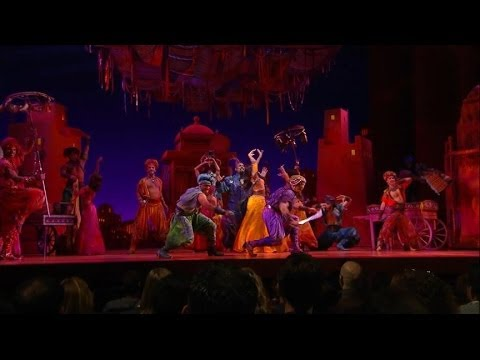 Go Behind the Scenes of Disney's 'Aladdin' on Broadway