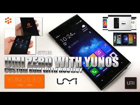 UMI ZERO [YUNOS CUSTOM ROM WITH ROOTJOY] 2GHz MTK6592T, Super AMOLED FHD, Full Metal Body