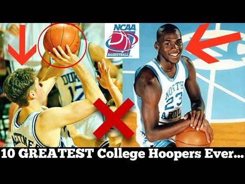 Ranking the 10 GREATEST College Basketball Players of All Time