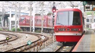 大船駅を出発する 伊豆急2100系 キンメ電車回送
