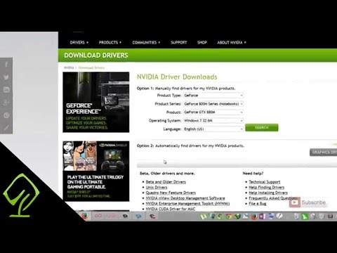 How to Download Latest Nvidia Drivers for Windows 7, 8, 8.1 and 10