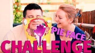 PIE FACE CHALLENGE  ТОРТ В ЛИЦО! ВЫЗОВ! | SWEET HOME