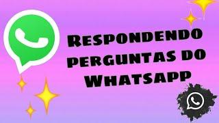 Respondendo perguntas de whatsapp