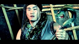 "Mongolian Throat Singing Khuumei (Khoomei) "" Mt. KHARKHIRAA"" (Techno)"