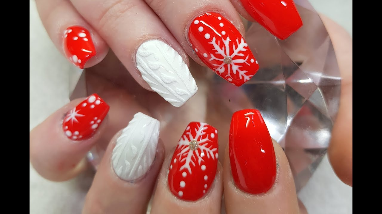 watch me work easy christmas nails 2017 part 2