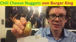 Burger King Chili Cheese Nuggets: Die liebsten von Jan Leyk im Test - Das Beste vom Bestem?