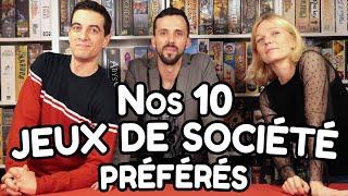 Top 10 de nos jeux de société préférés  (version 2019)