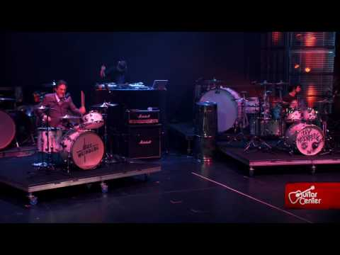 Max and Jay Weinberg duet at Guitar Center's 21st Annual Drum-Off Finals (2009)