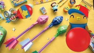 Didi & Friends | Segmen Kreatif | Belon Roket DIY
