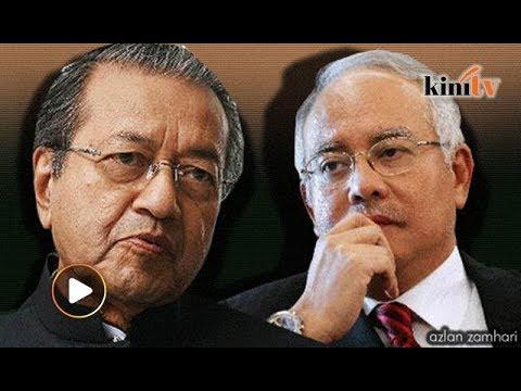 Di hospital, Tun M disindir Najib