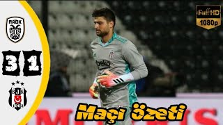 Paok 3-1 Beşiktaş (Şampiyonlar Ligi Ön Eleme Maçı) #UCL