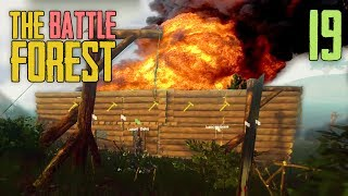 LUSOR BASE IN FLAMMEN :D ★ THE FOREST BATTLE #19 | The Forest Multiplayer | LPmitKev