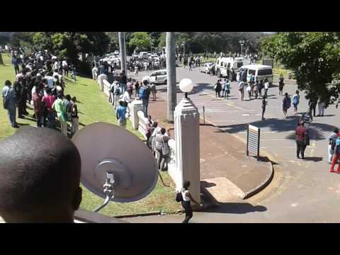 Ukzn Howard college #feesmustfall strike