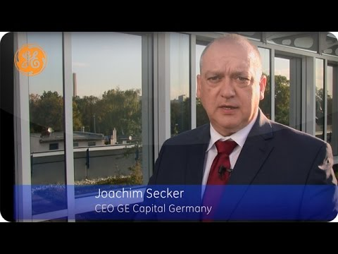 60 Sekunden mit Joachim Secker, CEO GE Capital Germany: Der deutsche Mittelstand investiert in F&E