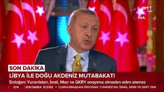 """Cumhurbaşkanı Erdoğan: """"Haklarımıza Rağmen Tehdit Ettiler Ama Biz Aldırmadık"""""""