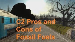 C2 Pros and Cons of Fossil Fuels [SL IB Chemistry]