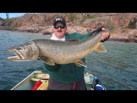 Spoon Feeding Lake Trout @ Great Bear Lake: Plummer's Arctic Circle Lodges Part 2