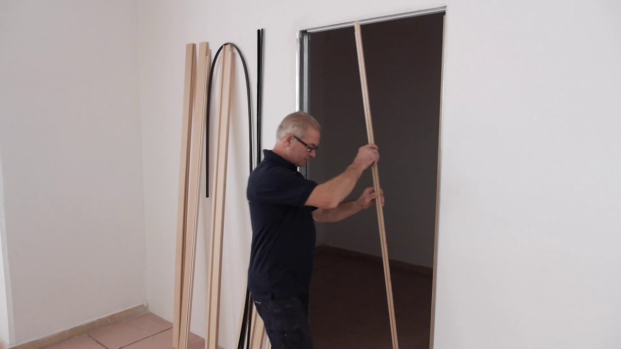 Montaggio Porta A Scomparsa how to set up a door on pocket door system evokit
