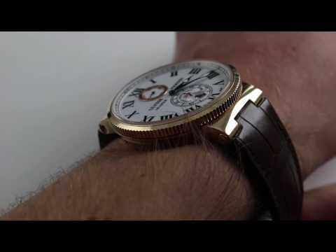 Ulysse Nardin Marine Chronometer Luxury Watch Review