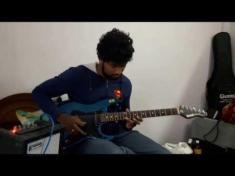 Raja rani sad bgm in guitar