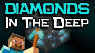 "♪ ""Diamonds In The Deep"" Song - A Minecraft PARODY Of Adele"