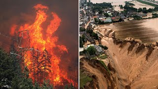 video: Watch: Why extreme weather has hit Germany and Belgium - and how it's spreading across the globe