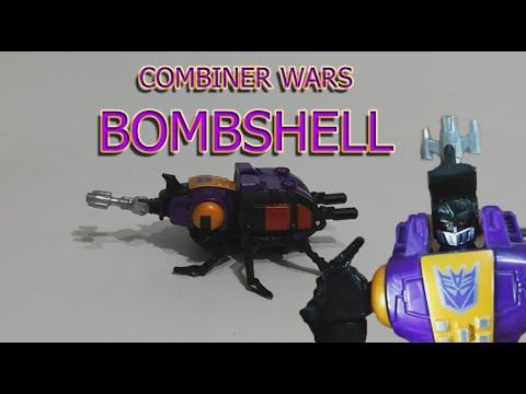 Transformers Insecticons Generations Combiner Wars BOMBSHELL Review İnceleme