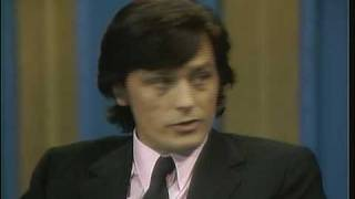 Dick Cavett Show - Alain Delon interview (part 1 of 4)