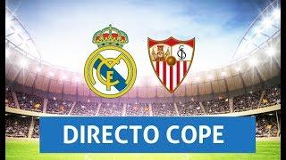 (SOLO AUDIO) Directo del Real Madrid 2-0 Sevilla en Tiempo de Juego COPE