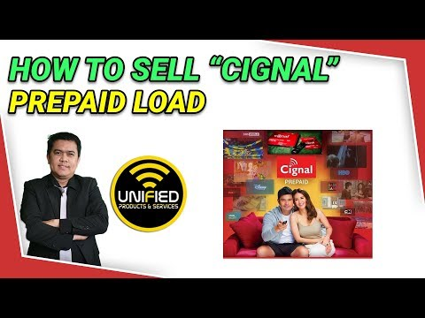 Видео: How To Sell Cignal Prepaid Load