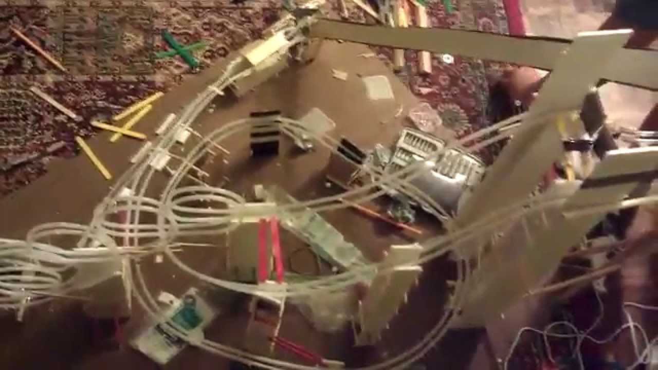 Physics Grade 12 Project Marble Roller Coaster Youtube