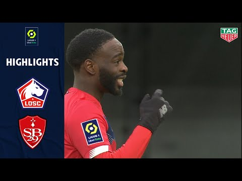 Lille Brest Goals And Highlights
