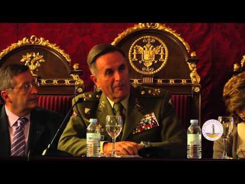 """Teniente General Alfredo Ramírez  - """"La seguridad y defensa europea; contribución del Eurocuerpo"""""""
