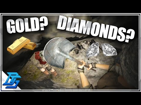 Buried Treasure Finders , Gold? Diamonds?! - 7 Days to Die - Alpha 16 - Part 14
