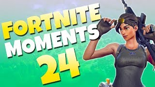 Fortnite Daily Funny and WTF Moments Ep. 24