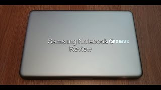 2018 Samsung Notebook 5 Review