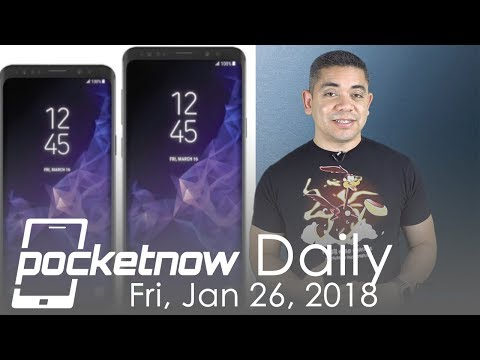 Samsung Galaxy S9 display change, iPhone X OLED vs LCD