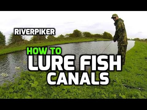 How to lure fish a canal - ultra light lure fishing tutorial (video 59)