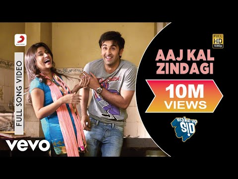 Aaj Kal Zindagi - Wake Up Sid! | Ranbir...