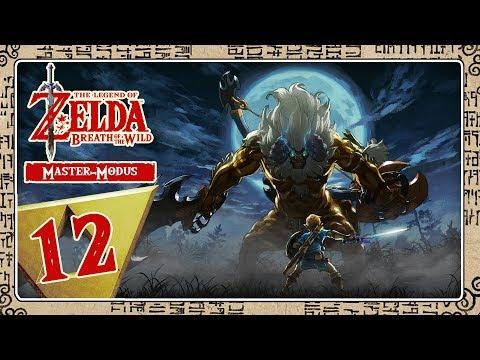 🔴 THE LEGEND OF ZELDA BREATH OF THE WILD [MASTER-MODE] Part 12: Titan Vah Medoh