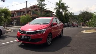 Perodua Bezza 2016 1.0 Standard G & 1.3 Advance - Roda Pusing Review