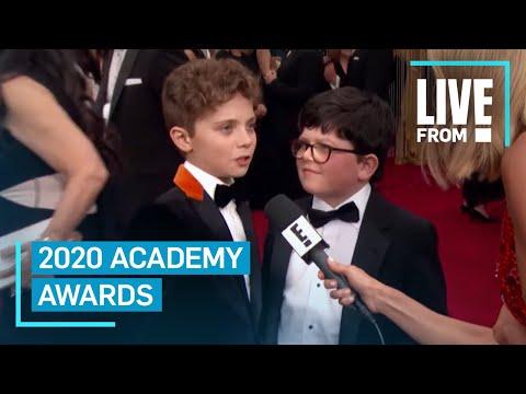 "Watch ""Jojo Rabbit"" Stars' Adorable Argument At 2020 Oscars   E! Red Carpet & Award Shows"