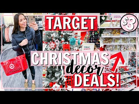 WHAT'S NEW AT TARGET FOR CHRISTMAS 2018! BEST HOLIDAY DECOR SHOP WITH ME! | Alexandra Beuter