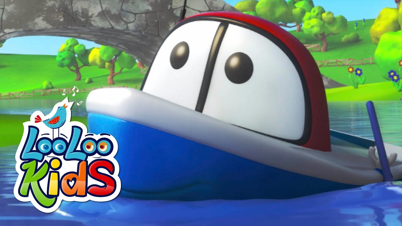 Row, Row, Row Your Boat - THE BEST Songs for Children   LooLoo Kids