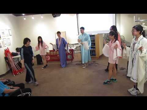 DiSCOVER Chinese Opera Workshop 6 - Opening a Door Pt. 1